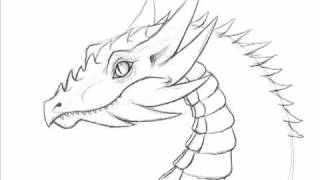how to draw a dragon markcrilley