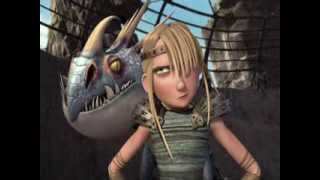 getlinkyoutube.com-Astrid & Heather - Girlfriend - Riders of Berk, HTTYD