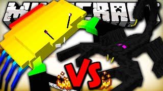 getlinkyoutube.com-GIANT CRAB VS EMPEROR SCORPION - Minecraft Batalha de Mobs - Minecraft Mods