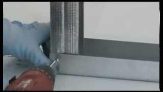 getlinkyoutube.com-Constructie perete gips-carton (usi glisante Eclisse)