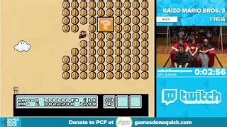 getlinkyoutube.com-Kaizo Mario Bros. 3 by mitchflowerpower in 34:29 - Awesome Games Done Quick 2016 - Part 82