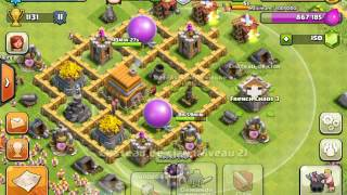 "getlinkyoutube.com-Clash of clans : Technique d'attaque ""économique"""