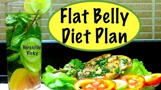 getlinkyoutube.com-Flat Belly Diet Plan with Flat Belly Diet Drink  Lose 3 inches or Lose 10 kgs in 10 days