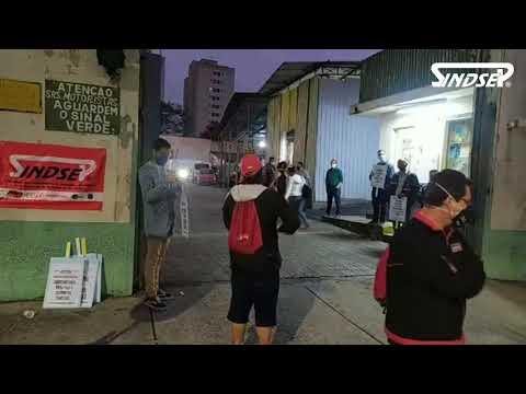Ato dos trabalhadores do Serviço Funerário da Vila Guilherme | 15.04