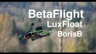 getlinkyoutube.com-~BetaFlight- Luxfloat Flight Testing (Default PID)