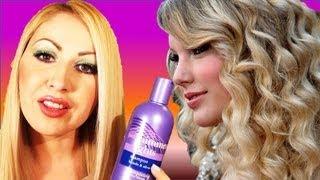 getlinkyoutube.com-COMO MATIZAR EL CABELLO RUBIO Y LAS LUCES FACIL review clairol chimmer lights shampoo
