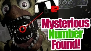 getlinkyoutube.com-Mysterious number found? in Chica's mouth! (five nights at freddy's 2 theory)