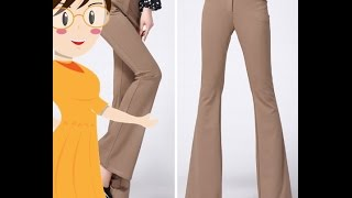 Bell Bottom Pant Cutting - Tailoring With Usha