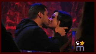 getlinkyoutube.com-Demi Lovato Surprised/Kissed by Wilmer Valderrama at Lovato Scholarship Benefit