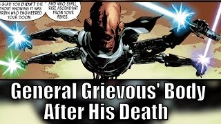 getlinkyoutube.com-What Happened to Grievous' Body after his Death?