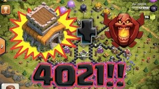 getlinkyoutube.com-Highest EVER TH8 in the world  | MASSIVELY glitching Inferno tower  | Clash Of Clans do you believe?