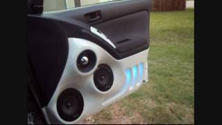 getlinkyoutube.com-Custom sound system with fiberglass panels on the 2005 Toyota Matrix- Alphasonick, JL Audio
