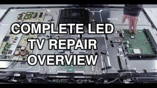 getlinkyoutube.com-LED TV Repair Tutorial - Common Symptoms & Solutions - How to Repair LED TVs