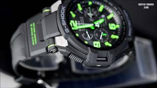getlinkyoutube.com-CASIO G-SHOCK SKYCOCKPIT GW-4000-1A3JF スカイコックピット マルチバンド6