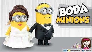 MEDIO ✔ BODA DE MINIONS (Wedding Minions)