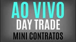 Day Trade ao vivo Mini Índice e Mini Dólar com Jota - 15-03-2018