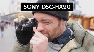 getlinkyoutube.com-Sony DSC-HX90 | hands on | review | walking through Frankfurt