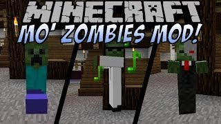 Minecraft MO' ZOMBIES MOD [Deutsch]