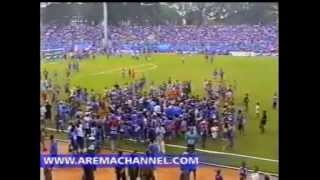 getlinkyoutube.com-DERBY BERDARAH AREMA VS PERSEMA DI STADION GAJAYANA MALANG #9