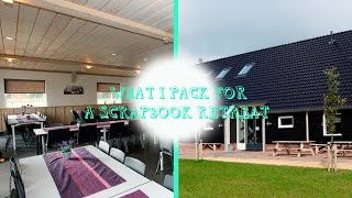 getlinkyoutube.com-Scrapbook retreat | What i pack