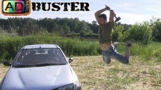 getlinkyoutube.com-AdBuster - Renault Megane Destroy!