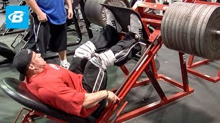 getlinkyoutube.com-Jay Cutler's Mr. Olympia Leg Workout | 2010 Road to the Olympia