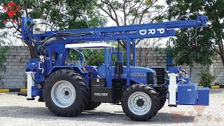 getlinkyoutube.com-Tractor mounted drilling machine | Paranthaman Exporters - Piling drilling rigs