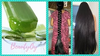 How To Use ALOE VERA For Hair Growth | Stop Hair loss, Baldness at Home with Aloe Vera