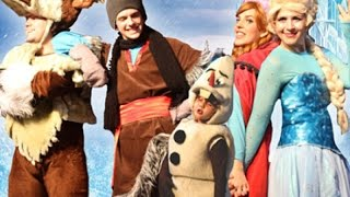 getlinkyoutube.com-Frozen uma Aventura Congelante No Teatro