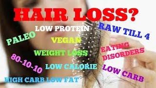 getlinkyoutube.com-HAIR LOSS (Vegan, 801010, Rawtill4, HCLF, Low Carb, Eating Disorders, etc.)