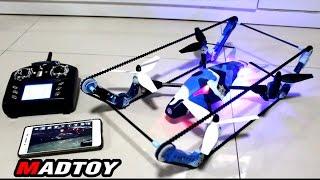 getlinkyoutube.com-MADTOY ตอนที่327 Tank Drone โดรนรถถัง ติดกล้อง WiFi 3,600 บาท