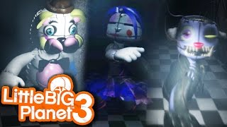 BACK TO THE SECRET OFFICE! | Little Big Planet 3 | Sister Location
