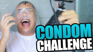 getlinkyoutube.com-ANOTHER STUPID CHALLENGE VIDEO - THE CONDOM CHALLENGE (2 Challenges, 1 Video)
