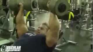 getlinkyoutube.com-Джей Катлер тренировка груди 180 дней до Мистер Олимпия 2013
