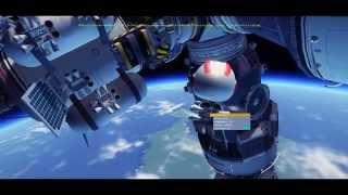 getlinkyoutube.com-KSP Mir-2 [project 1993] Space Station       (x0.65 scale)