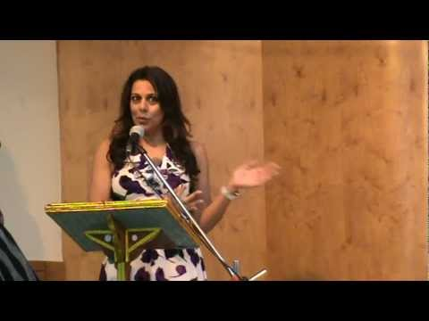 Pooja Bedi's thoughts at Brahma Kumaris Launch Event for Road Safety Week 2013.mp4