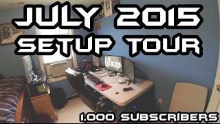 getlinkyoutube.com-Ultimate Gaming Setup Tour (July 2015) - Thanks for 1000 Subs!
