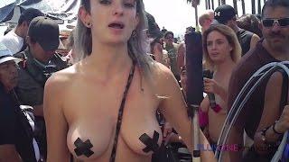 getlinkyoutube.com-Free The Nipple Parade - GO TOPLESS DAY!