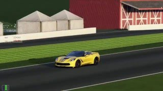 Assetto Corsa - Chevrolet Corvette Stingray (C7) at VIR / Virginia International Raceway