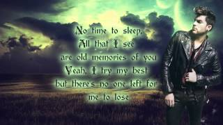 getlinkyoutube.com-Adam Lambert - Another Lonely Night (lyrics)