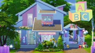 getlinkyoutube.com-The Sims 4 | House Building - Blossom's Toddler Daycare