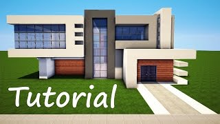 getlinkyoutube.com-Minecraft: How to Build a Modern House - Best Mansion 2016 Tutorial [ How to Make ]
