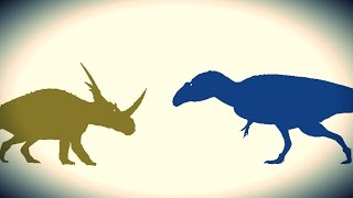 getlinkyoutube.com-PDFT - Acrocanthosaurus vs Styracosaurus