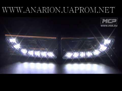 Заглушки противотуманных фар 'Mercedes Benz style» для ВАЗ