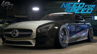 getlinkyoutube.com-NEED FOR SPEED (2015) - MERCEDES AMG GT GAMEPLAY (TUNING, RACES)