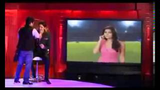 Leaked IPL Anchors Archana and Sameer Romantic Talk In Shooting