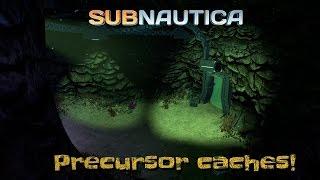 getlinkyoutube.com-Subnautica: Precursor Caches! | Subnautica gameplay