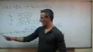 Imagen en miniatura para Ajustar una reacción - Método algebraico