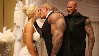 getlinkyoutube.com-THE AMAZING WEDDING - RICH PIANA & SARA PIANA - 2015 OLYMPIA