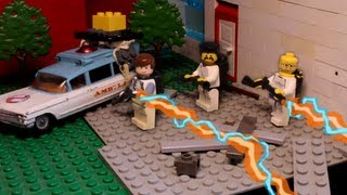 getlinkyoutube.com-LEGO Ghostbusters Stop Motion: The Sedgewick Attack (1080p HD)